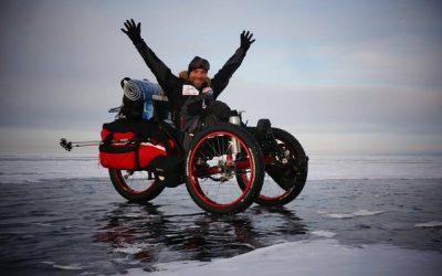 Přejezd Bajkalu v zimě
