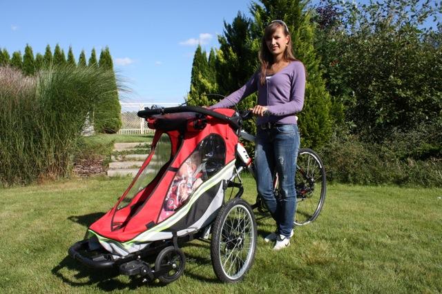 Cyklokočárek: nová alternativa pro rodiny s malými dětmi