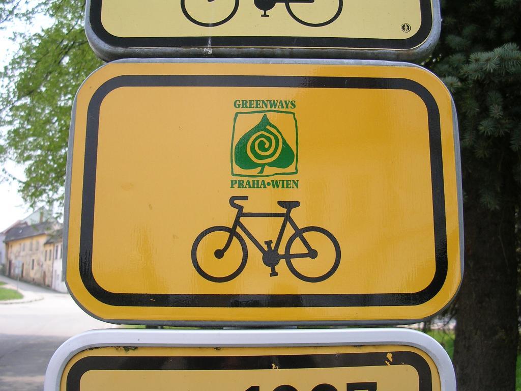 Cyklostezka Praha Vídeň