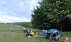 Foto40-Taboriste na sedle v Rumunsku