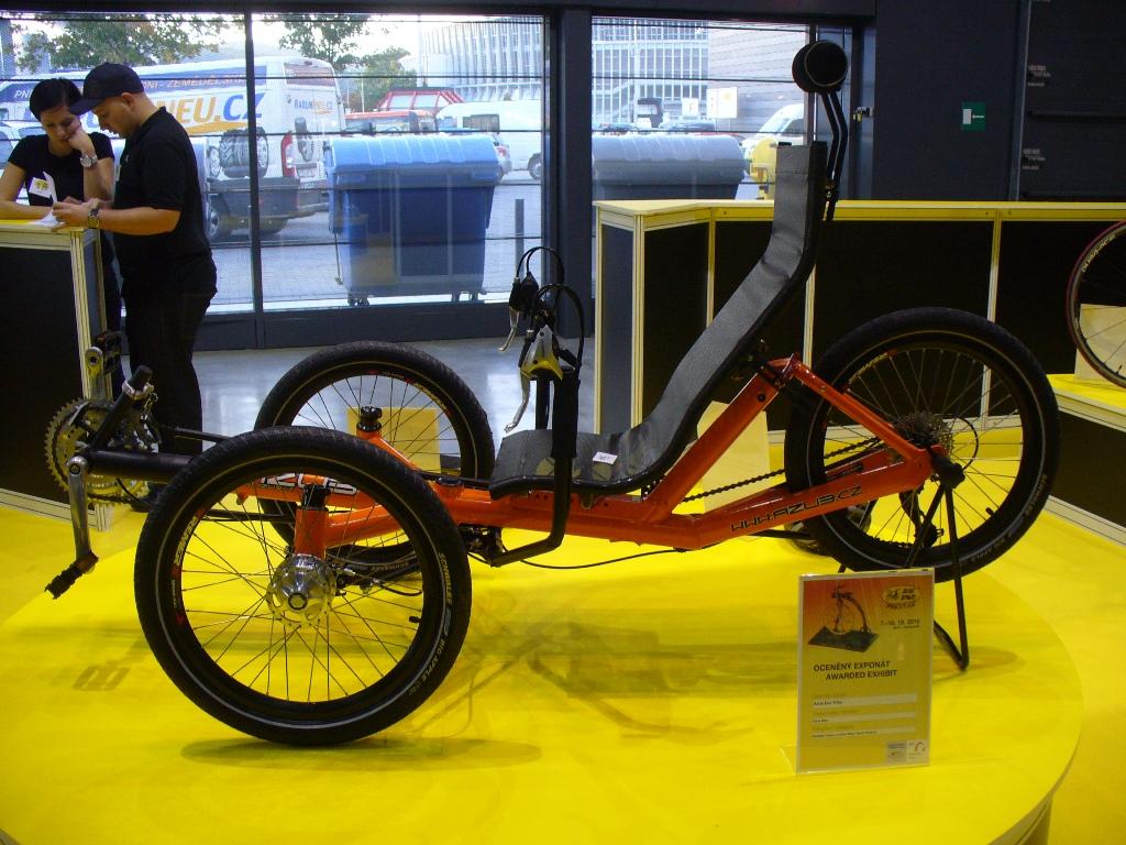 Lehotříkolka AZUB Eco Trike získala ocenění Bike Brno Prestige