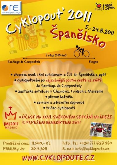 Plakát - cyklopouť 2011