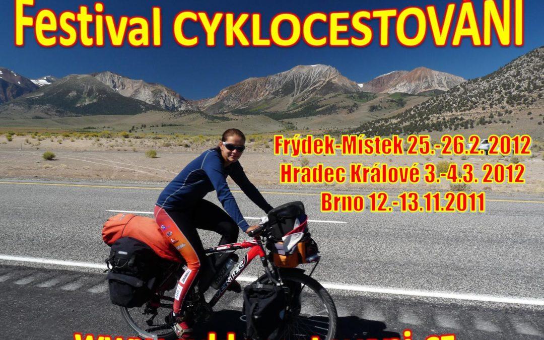 Festival CYKLOCESTOVÁNÍ opět v Brně na veletrhu Bike Brno/Sportlife