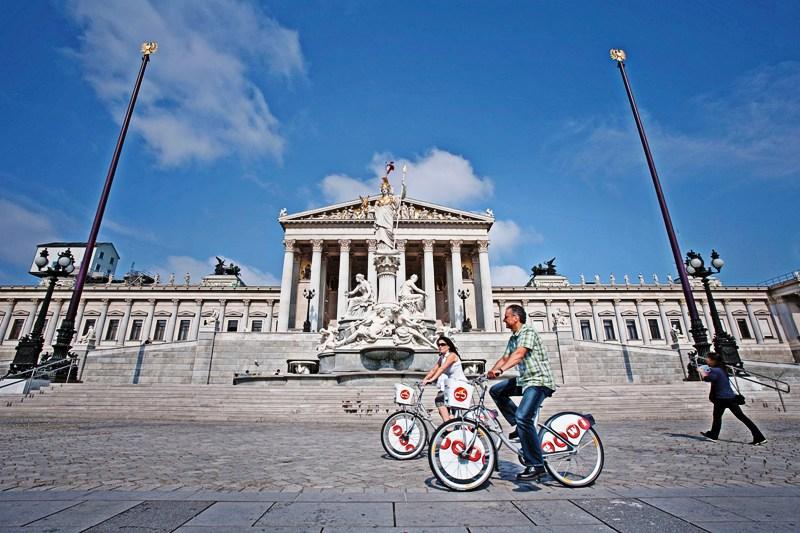 Vídeň? Nejlepší na kole