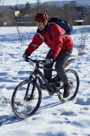 Winter-cycling