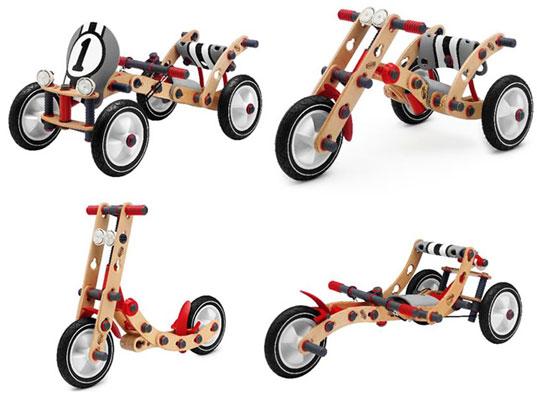 Složte si s dětmi vlastní kolo od BERG Toys