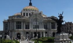 budova opery v Mexico City