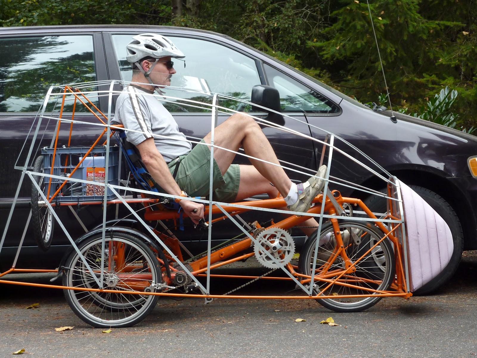 EcoVia – naklápěcí velomobil