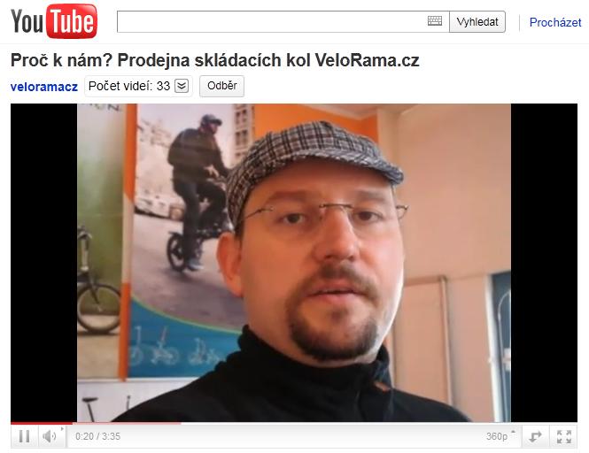 Videa na Velorama.cz