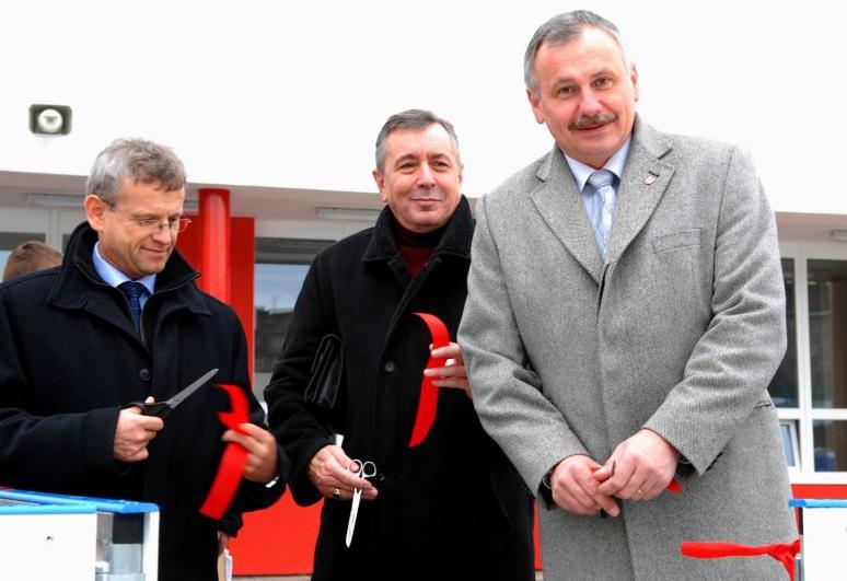 Ladislav Macek (vpravo)