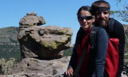 spolu ve skalach Chiricahua