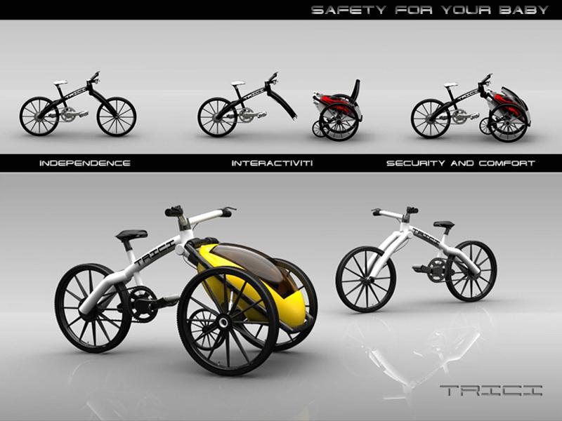 TRICI tricycle - kolo s kokpitem pro děti