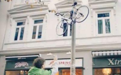 Bojíte se o své kolo? Vyšplhejte s ním do výšin!