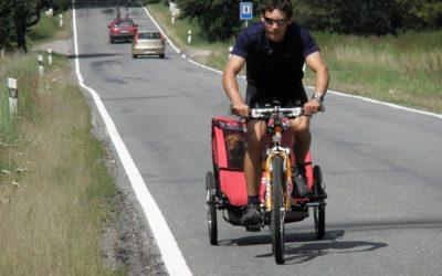 Letní kolo celoroční soutěže o skládací kolo vyhrál Psí vozíčkář