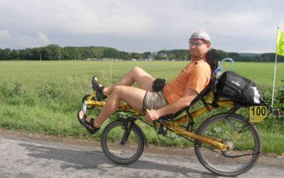 Tak jsem se zúčastnil poprvé cyklistického závodu