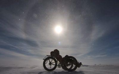 Po Jížním Pólu na sněžné tříkolce