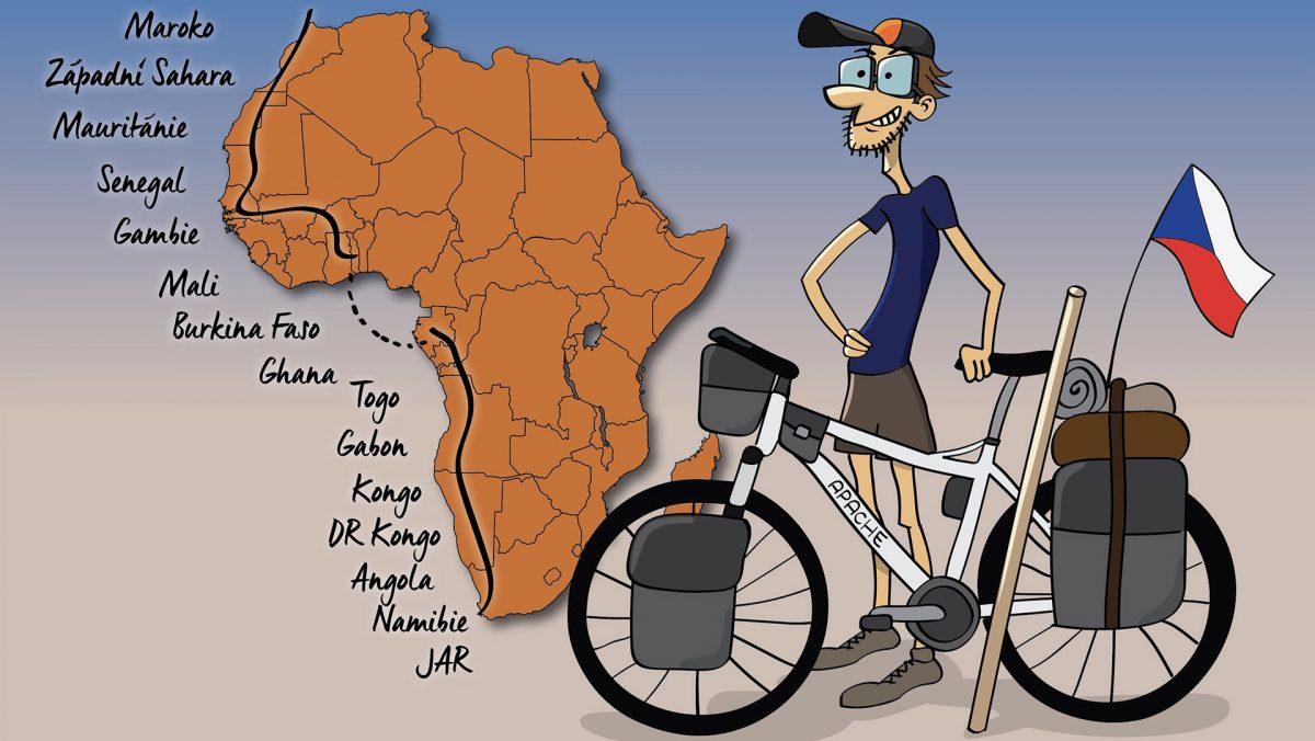 Velká cesta Tadeáše Šímy přes Afriku