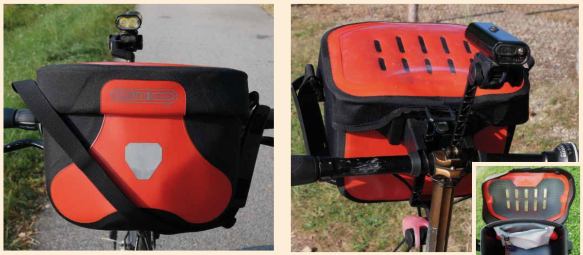 Testy brašen ORTLIEB Ultimate 6 Free 6,5L a Saddle-Bag TWO 4,1L
