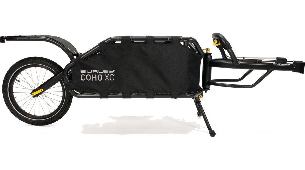 Burley Coho XC je odolný nákladní vozík za kolo s jedním odpruženým zadním kolem