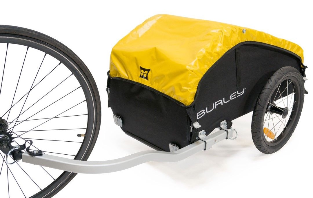 Odolný nákladní dvoukolový vozík Burley Nomad