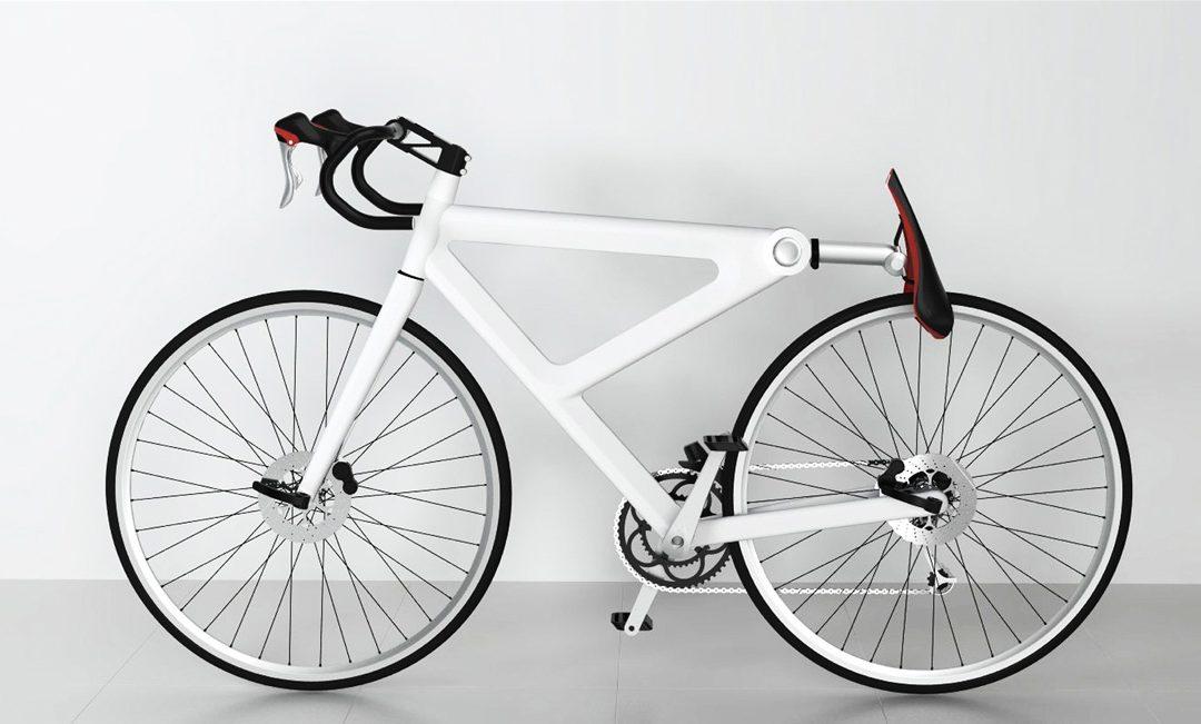 Netradiční zámek na kolo