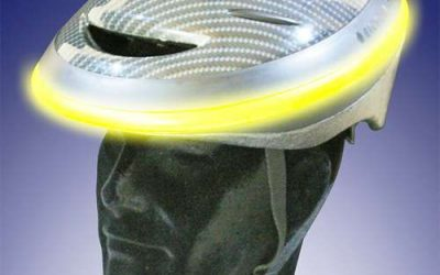 Andělské helmy pro větší bezpečnost na kole