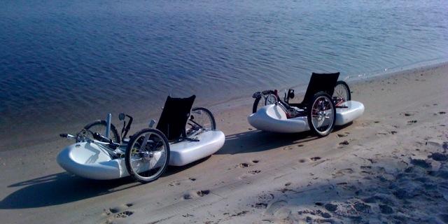 BikeBoat = společník na souši i ve vodě