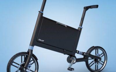 Skládací kolo se zabudovanou aktovkou pro váš byznys