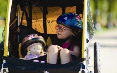 Vozíky za kolo: pro děti i na nákupy