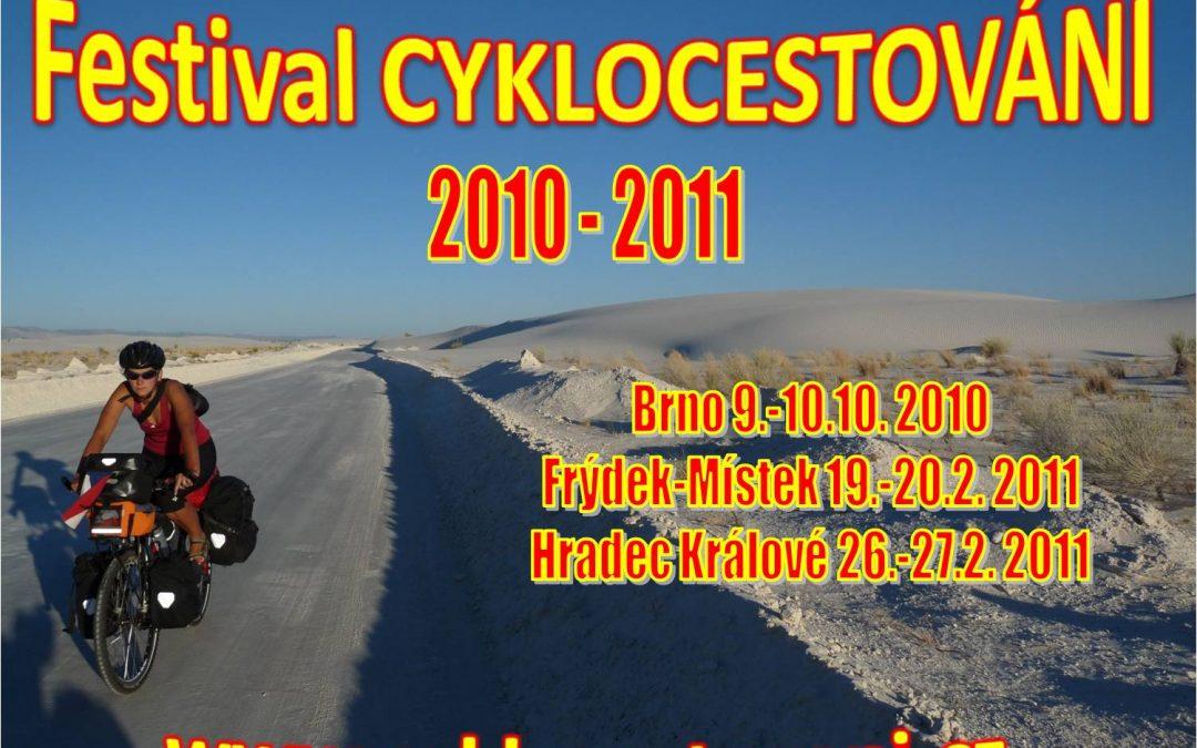 Jubilejní 10. ročník festivalu Cyklocestování poodhalil svůj program