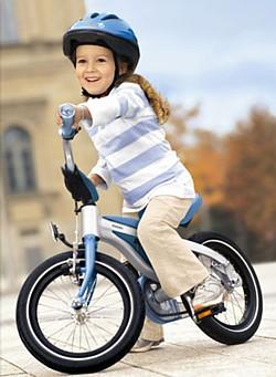 Učíme děti jezdit na kole