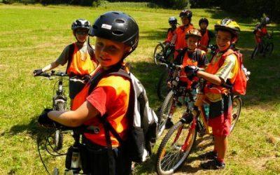 Léto s dětmi na kole i bez vás