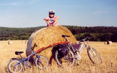 Celodenní výlet na kole i s dítětem