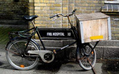 V Kodani jezdí zdravotní sestry za pacienty na kole
