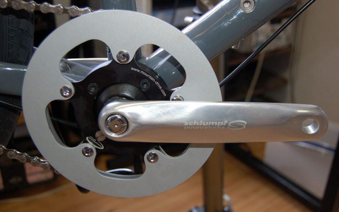 Montáž dvourychlostní převodovky Schlumpf Mountain Drive