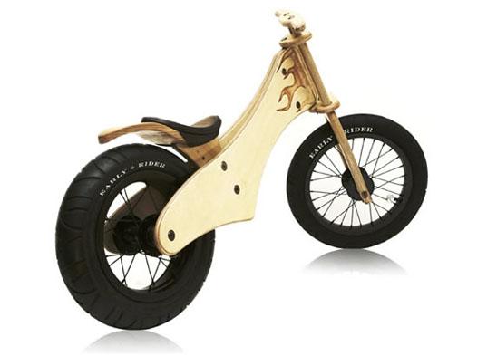 Early Rider: stylovka pro malé motorkáře