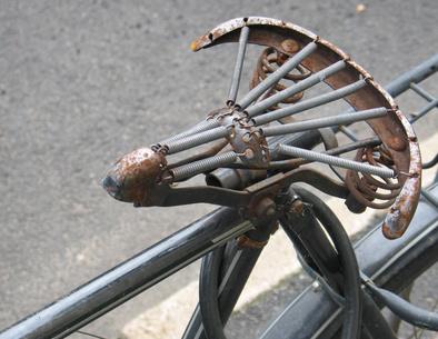 Pohodlné posezení na kole…