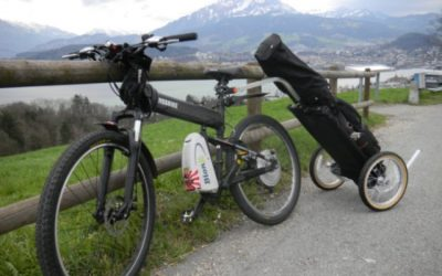 Cyklistika a golf dohromady