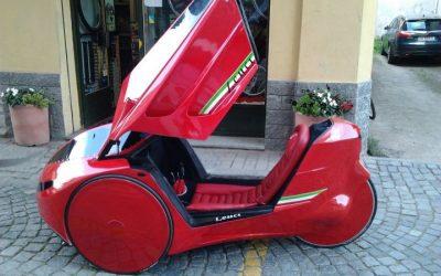 Italský velomobil