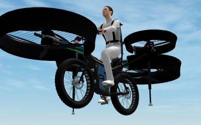 české létající kolo f-bike
