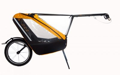 Extrémní vozík pro děti do každého terénu