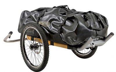 MONOWALKER: univerzální cestovní vozík na kolo i na hory
