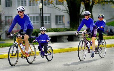 Rady pro cestování s dětmi na kole