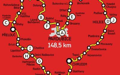 Česká města na kolech – Pardubice