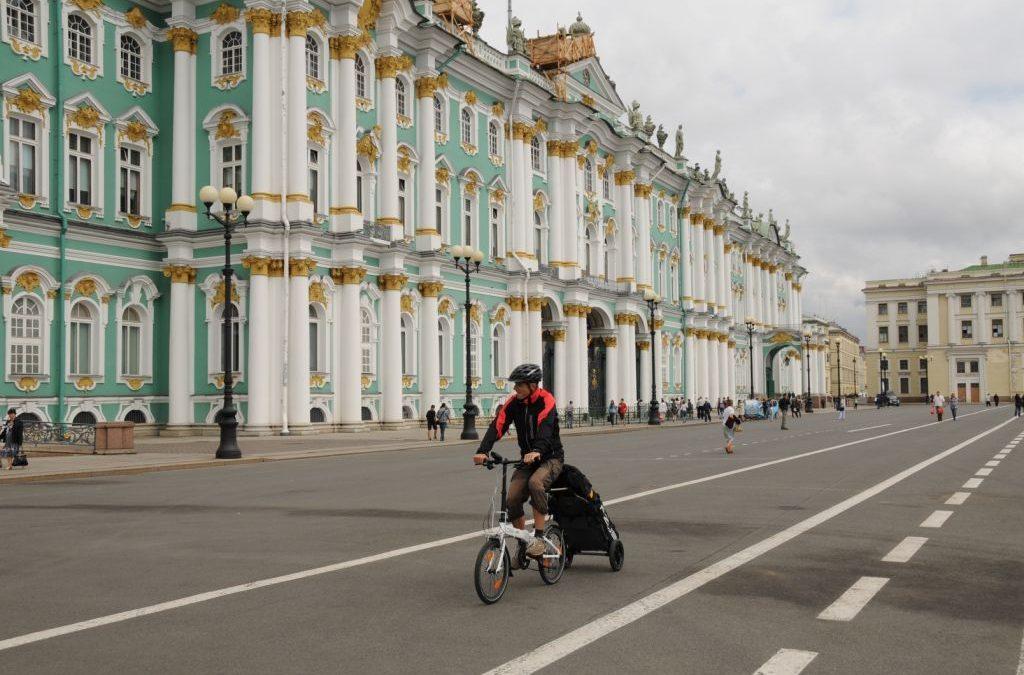 Vlakem kolem Asie se skládačkami 3. – St. Petěrsburg