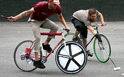 Nová zábava do města: pólo na kole