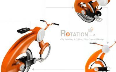 Skládací kolo Rotation