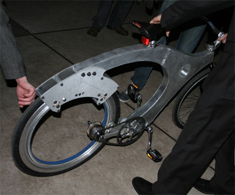 Netradiční prototyp kola od studentů z Yale