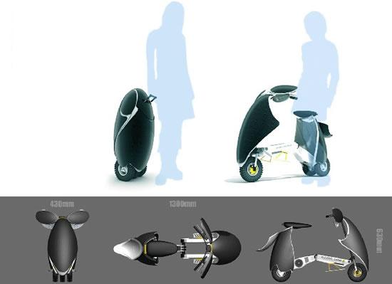 Sun Fold Bike: skládačka na solární pohon