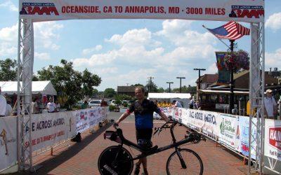 Vítězství lehokol na Race Across America